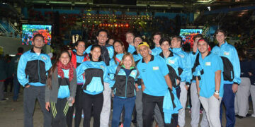 (Atletas rodriguenses que participaron de los Juegos Bonaerenses 2016)