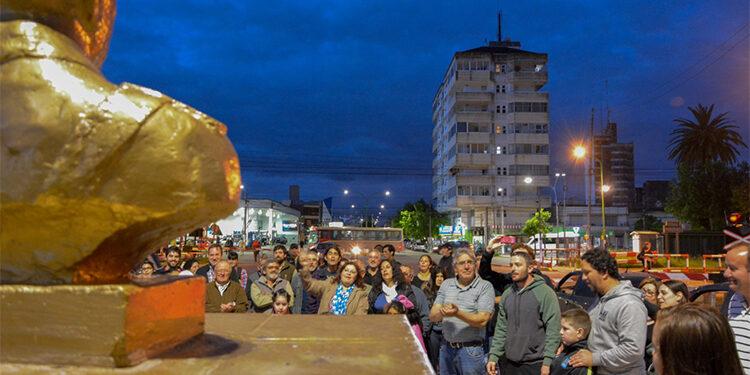 (Acto realizado en la Avenida Presidente Perón)