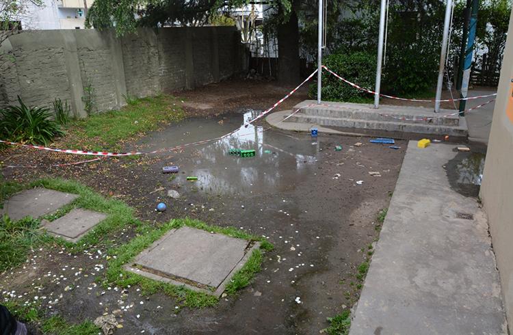 (El patio del jardín 908)