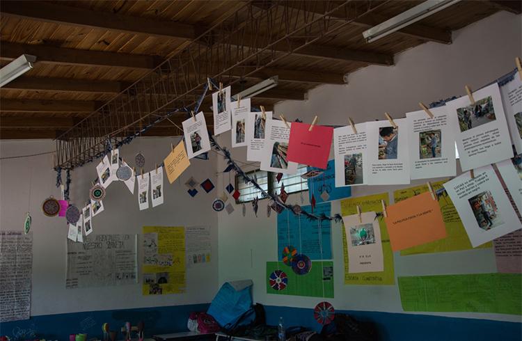 (Uno de los salones decorados con parte de la expo)