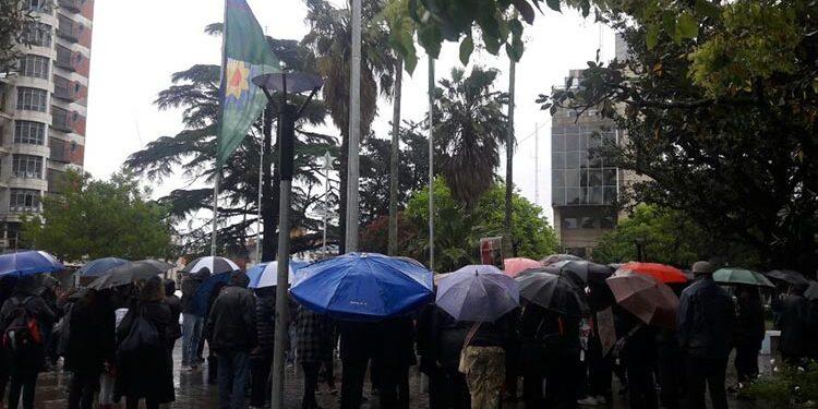(Manifestación realizada en General Rodríguez el 19 de octubre)