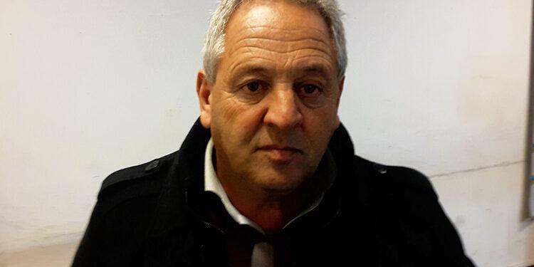 (Pedro García, secretario de Obras públicas)