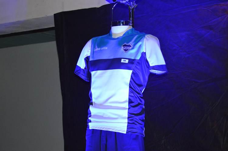 (Presentación de la nueva indumentaria de Rugby PAC)