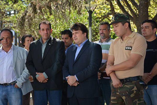 (Sergio Fernández, Secretario de Seguridad municipal)