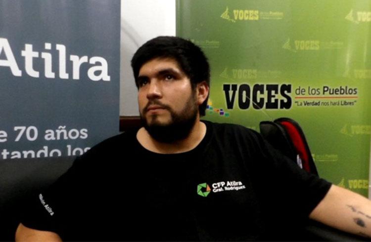 (Maximiliano Gutiérrez organizador del evento)