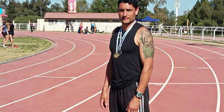 (Fernando Ferreyra, 1° Puesto - 400 mts con Vallas)