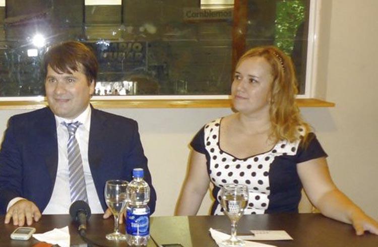 (Dario Kubar y Natalia Ruiz)