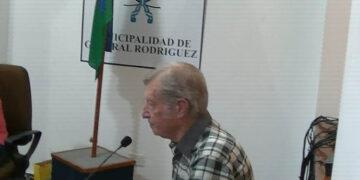 (Emilio Ángel Tullisi, quien hizo uso de la Banca Participativa)