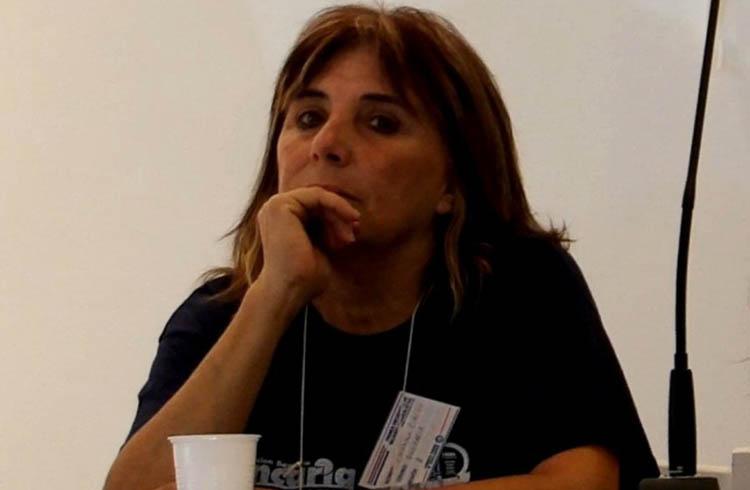 (Claudia Ormachea, Secretaría de Derechos Humanos, Género e Igualdad, de la Asociación Bancaria)