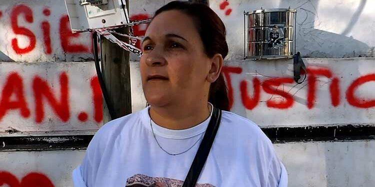 (Karina Rodríguez, mamá de Francisco)