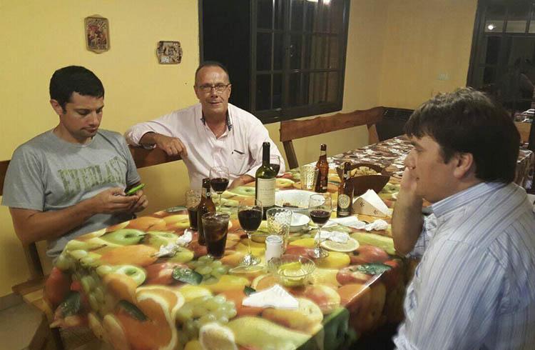 (Foto que circuló por las rede sociales, donde se hablaba de un acuerdo que Mauro García desmintió)