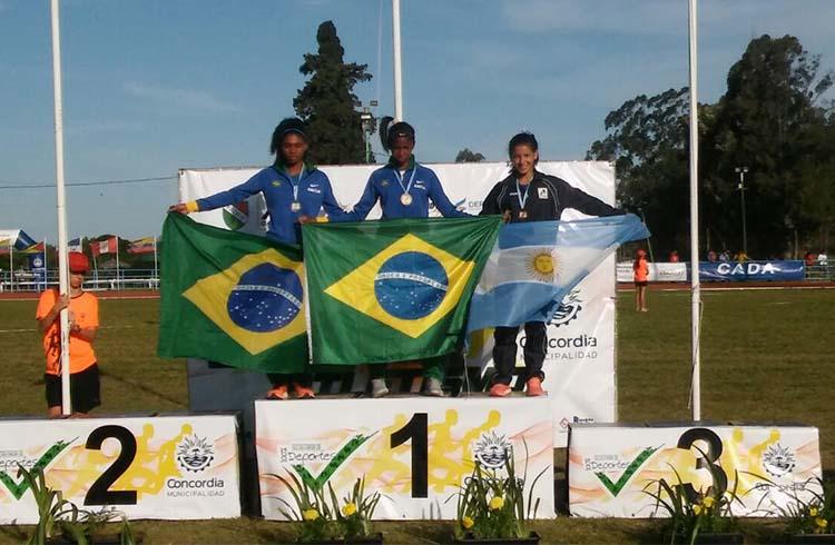 (Oriana Prieto, Tercer Puesto 400 mts con Vallas)