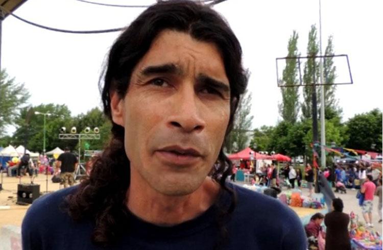 (Javier Panepucci entrevistado durante la jornada)
