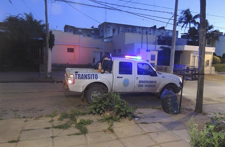(Foto del presunto móvil de Tránsito, que Krewski subió al portal de la Linterna)