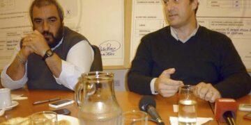 (Carlos Paz, junto al ex intendente Juan Pablo Anghileri)