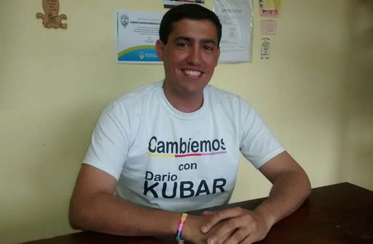 (Ariel Martinez, presidente del Concejo Escolar)