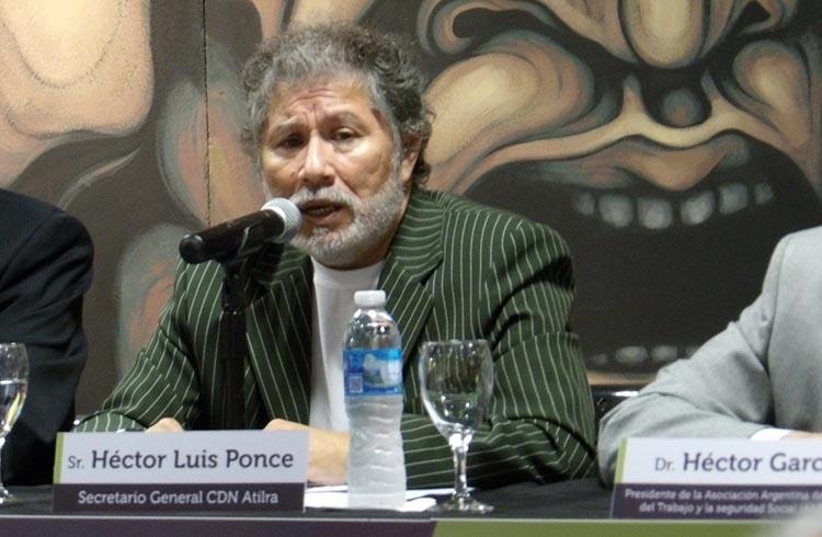 (Etín Ponce, Secretario General | Concejo Nacional  Atilra)
