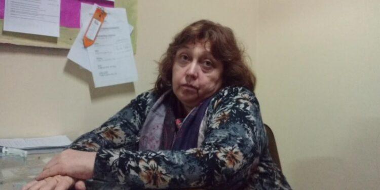 Nieves Masaro- integrante de la comisión administrativa de ATE