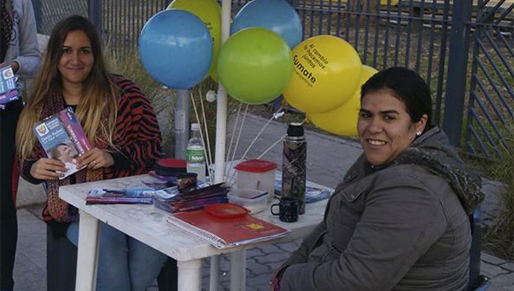(Florencia Ruiz, y Mariana Llorente)