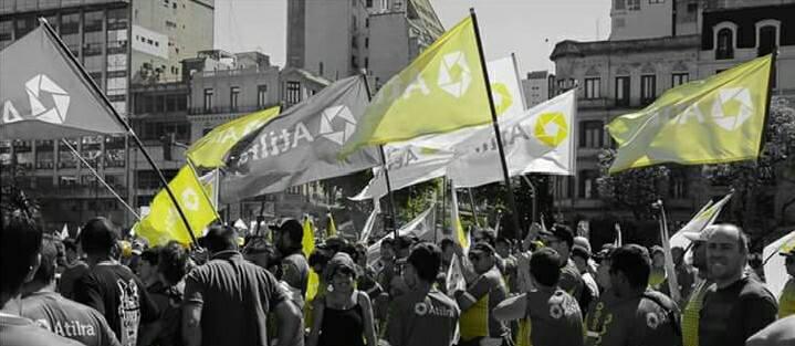 ATILRA gana las calles con compromiso y participación