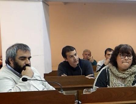 El concejal Torres manifiesta el repudio contra la represión