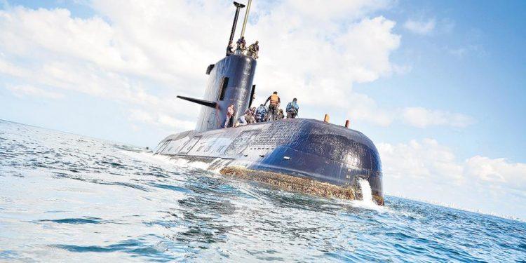 (Submarino ARA San Juan- Fotografía: Pagina12)