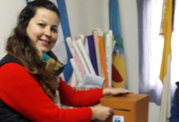(Viviana Ojeda, Delegada electa de SADOP)