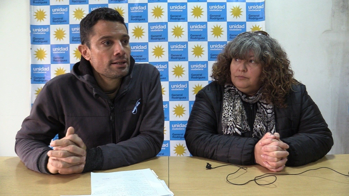 Mauro García y Claudia Guerra