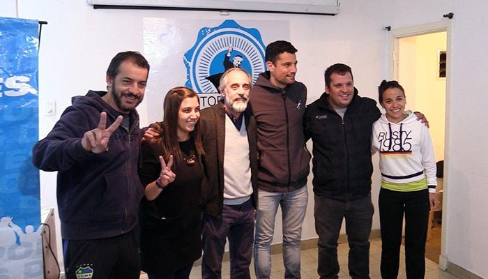 Claudio Morresi visitó el Ateneo Néstor Kirchner