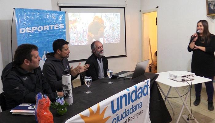 Claudio Morresi en el Ateneo Néstor Kirchner