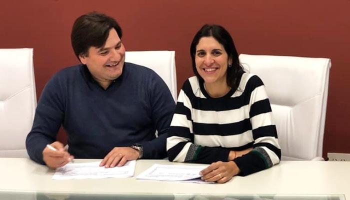 Dario Kubar y Laura Coratti