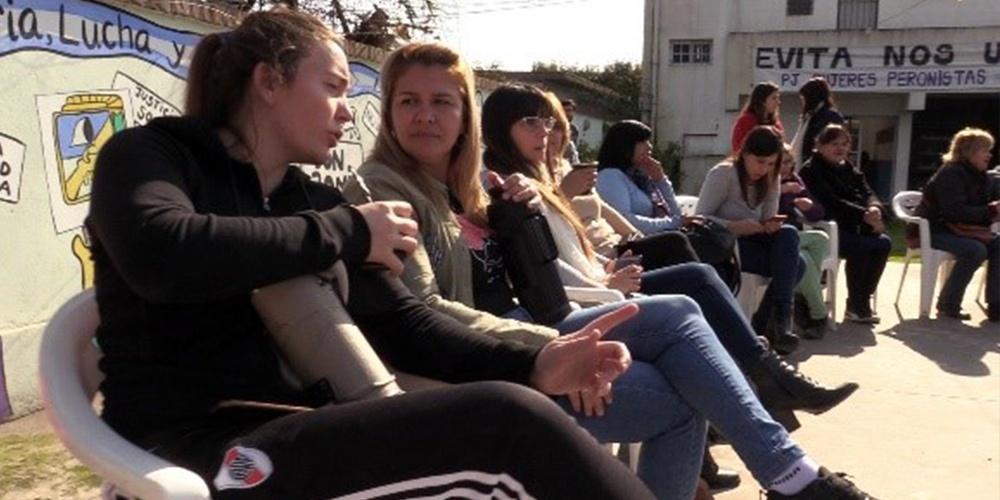Primer encuentro de mujeres en el PJ