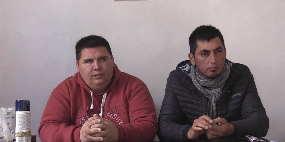 Tito Almaraz y Miguel Tano Ielly