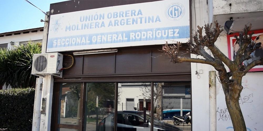 Seccional General Rodríguez de la Unión Obrera Molinera – Rivadavia 977