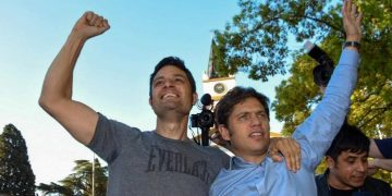 Mauro Garcia y Axel Kicillof