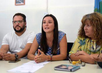 Sebastián Cohelo, Mariana Balbi y Claudia Guerra