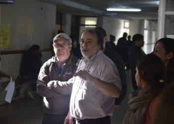 Dr. Miguel Merlo, Jefe de Neonatología del Hospital Vicente López / Foto de archivo