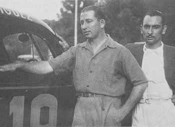 Foto Historia del Automovilismo Argentino, Alfredo Parga, La Nación