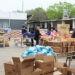 (Foto de archivo: reparto de mercadería del SAE durante el período de clases virtuales)